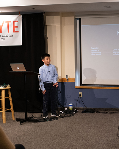 KTBYTE robotic club student Sammuel Ding wins sustainability award