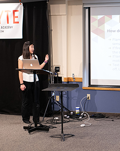 KTBYTE robotic club student Sophie Wang wins Topcoder practical and useful award