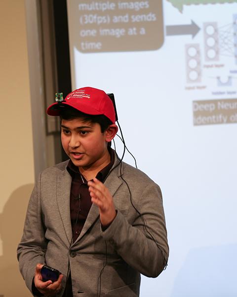 KTBYTE robotic club student Vikram Anantha wins Topcoder disruptive technology award