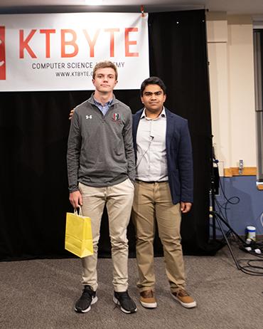 KTBYTE robotic club student Will Hunter wins unique and original award
